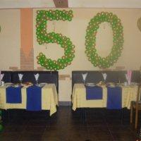 Оформление зала на юбилей 50 лет своими руками мужчине 18