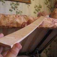 Как сделать лук из лыж?