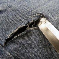 Как отстирать ручку с джинсов в домашних условиях