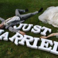 Как сделать буквы на свадьбу из пенопласта?