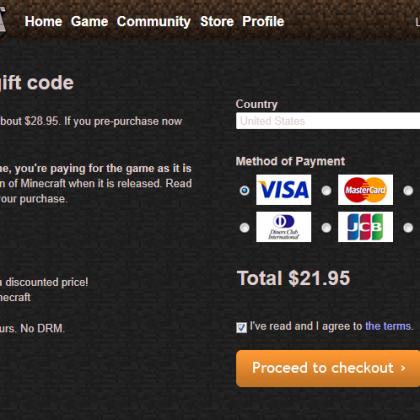 Советы начинающим игрокам: регистрация аккаунта в Майнкрафт