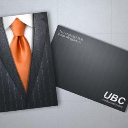 Как распечатать двухстороннюю визитку?