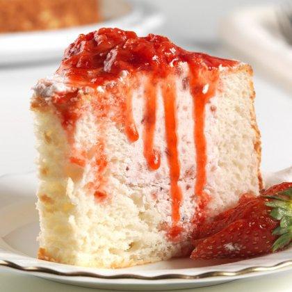 Как приготовить клубничный пирог с апельсином?