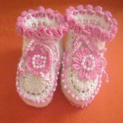 Как связать носочки для новорожденного?