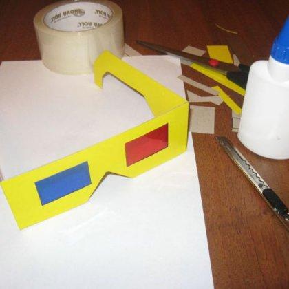 Как сделать 3d очки?