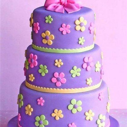 Как удалить мастику с торта, не повредив его?
