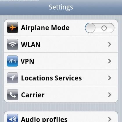 Как сбросить настройки сети на iPhone?