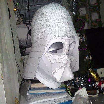 Как сделать шлем железного человека, Дарта Вейдера?