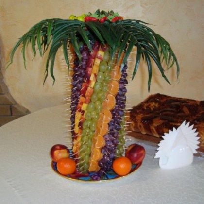 Фруктовая пальма своими руками