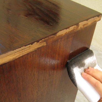 Как покрасить шкаф из ДСП?