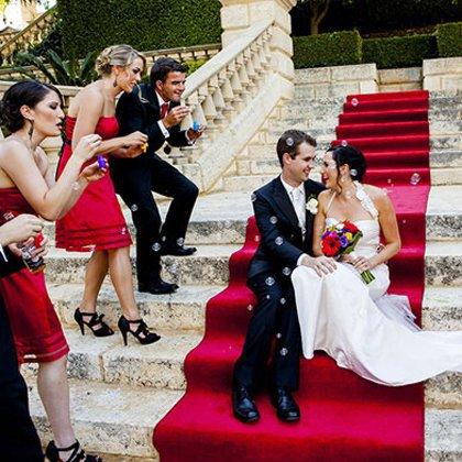 Как отметить свадьбу: новые идеи 2014 года!