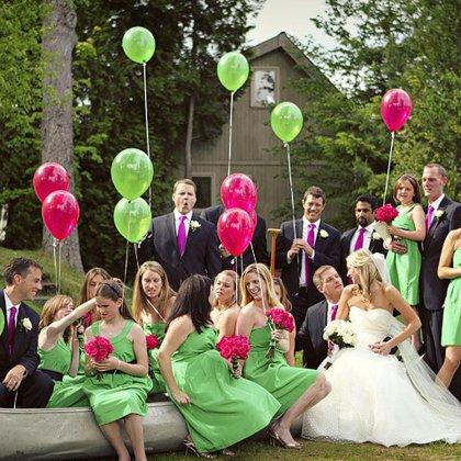 Как удивить на свадьбе гостей: интересные идеи