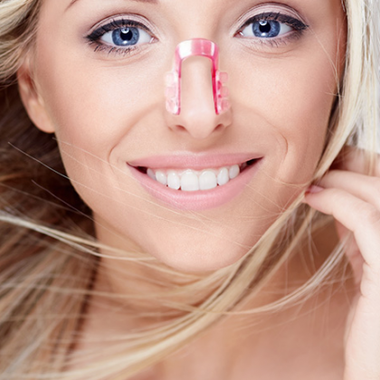 Исправить форму носа - не проблема!