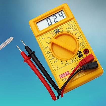 Простой способ, как проверить светодиод мультиметром. Проверка светодиодов мультиметром
