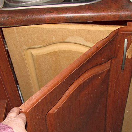 Реставрация фасадов кухни своими руками 621
