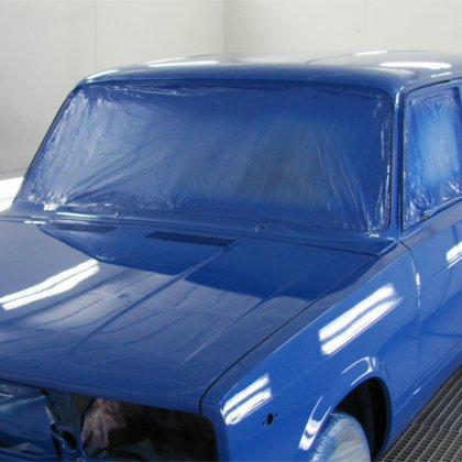 Как покрасить машину в гаражных условиях?