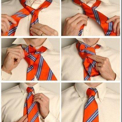 Как научиться завязывать галстук?