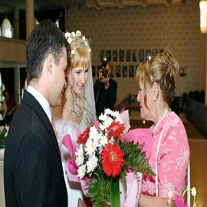 Как родителям поздравить сына на свадьбе?