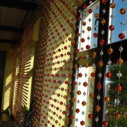 Как сделать шторы из бусин?