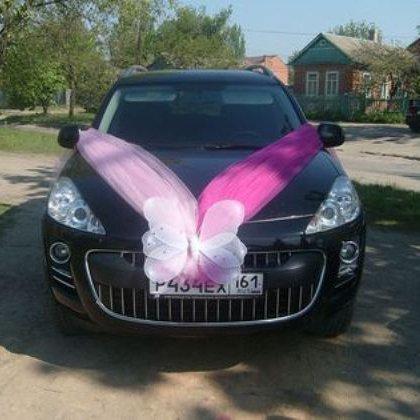 Свадебные наряды на машины: как сделать не банально