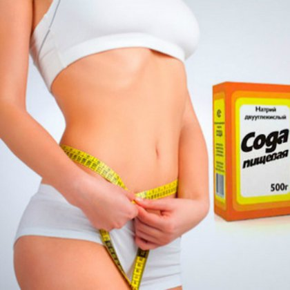 Содовая диета для похудения отзывы