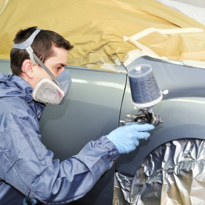 Как покрасить машину из баллончика?