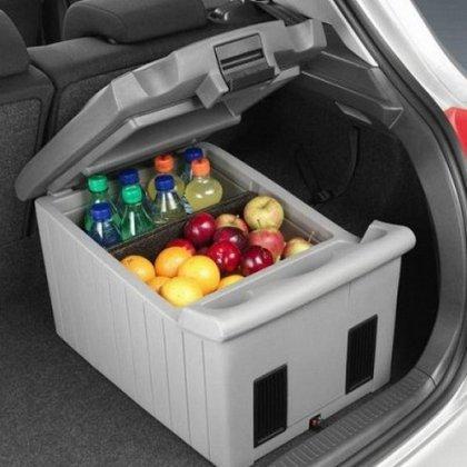Как сделать холодильник в машину?