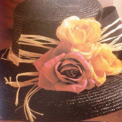Как украсить шляпу?