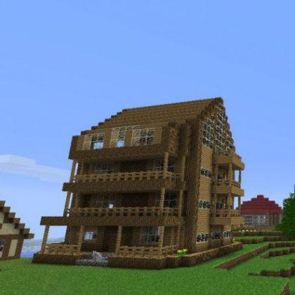 Как построить школу в Майнкрафт (Minecraft) ?