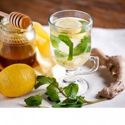 Имбирь, мята, лимон для похудения: рецепт