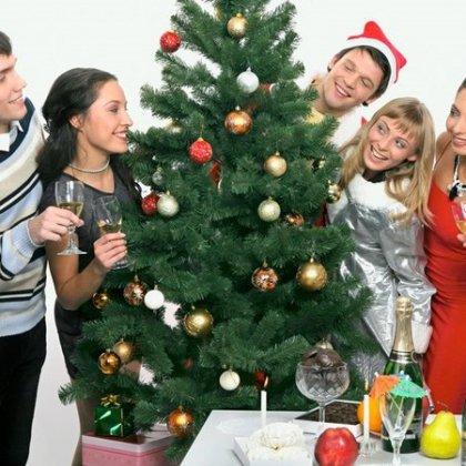 Смешной сценарий для нового года в кругу семьи