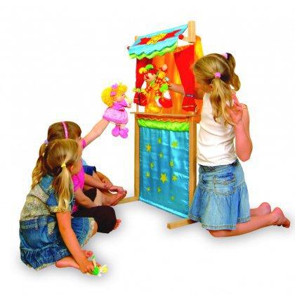 Как сделать игрушки для кукольного театра?