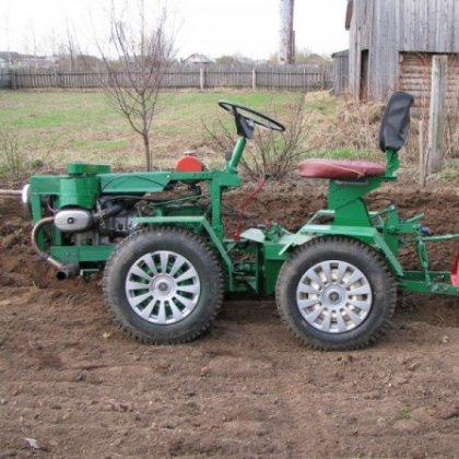 Своими руками сделать мини-трактор