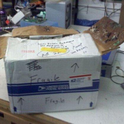 Как отправить вещь по почте?