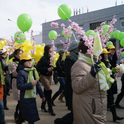 Сценарий праздника весны и труда