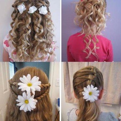 Детские причёски на жидкие волосы