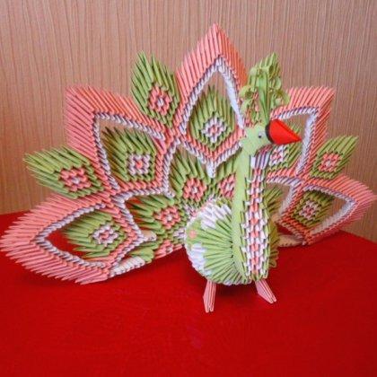 Оригами из модулей мастер классы