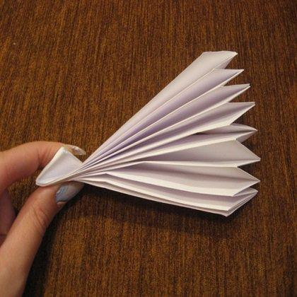 Как сделать веер из карт?
