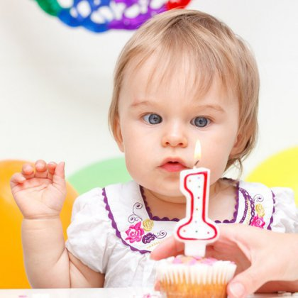 Как отметить один год ребенку?