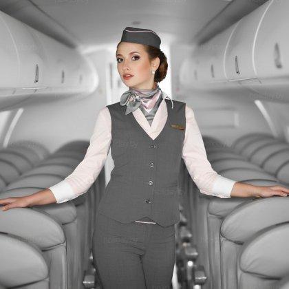 Как устроиться на работу стюардессой?