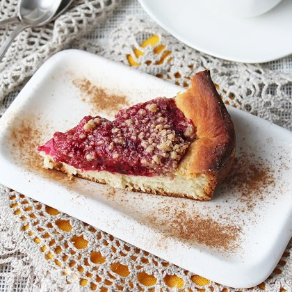 Как приготовить открытый пирог дрожжевой?