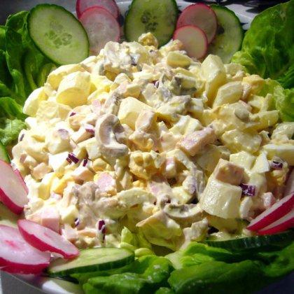 Яичный салат: рецепт