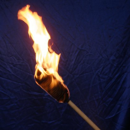 Как сделать факел своими руками 92