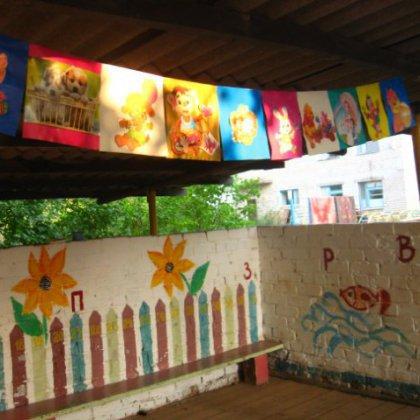 Как украсить веранду детского сада?