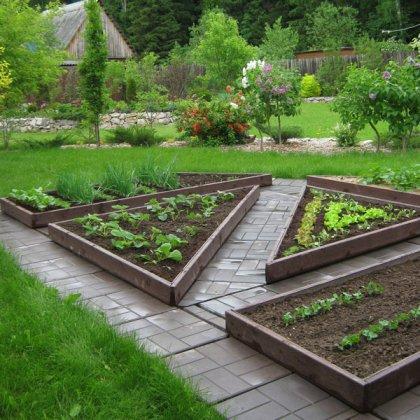 Как поднять огород: выравнивание поверхности