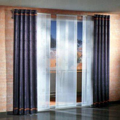 Как использовать японские шторы в интерьере ?