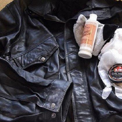 Как почистить ворот кожаной куртки?
