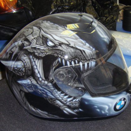 Как раскрасить шлем?