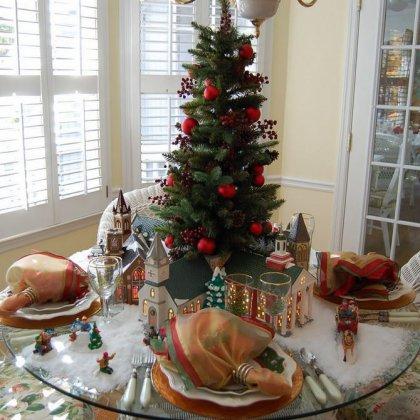 Как красиво накрыть праздничный стол на Новый Год?