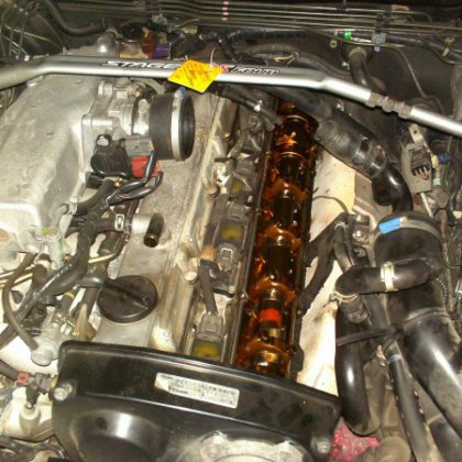 Как отмыть двигатель от масла?